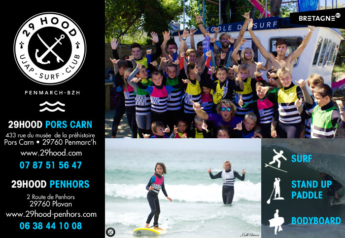 29HOOD Club de Surf, Bodyboard, Stand up Paddle