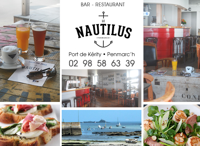 Bar - Restaurant Le Nautilus Port de Kérity - Penmarc'h