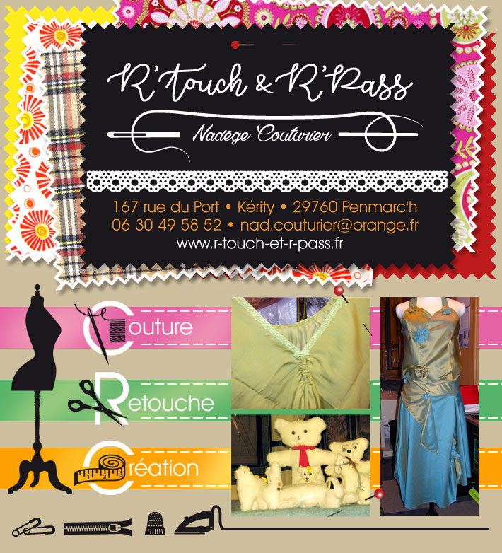 R'Touch & R'Pass - Couture services